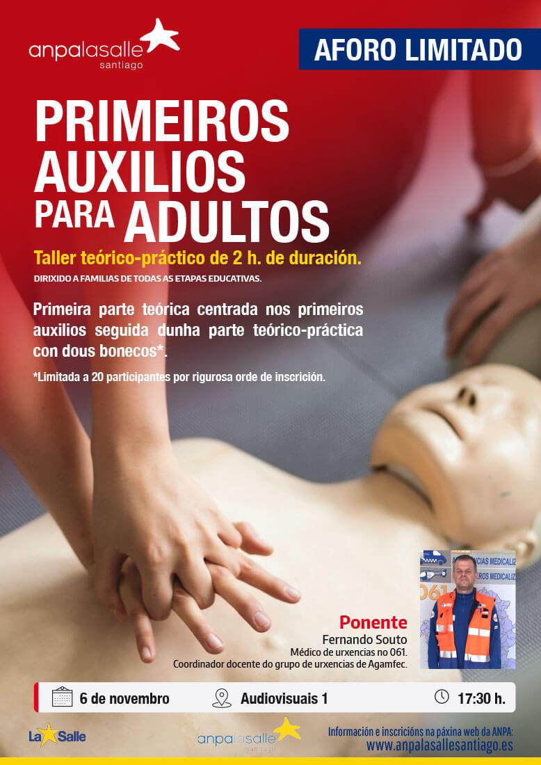 Taller Primeiros Auxilios Santiago