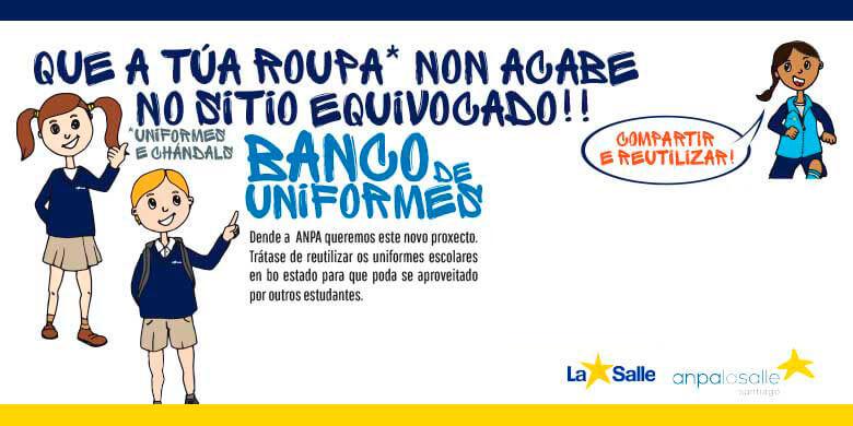 BANCO DE UNIFORMES LA SALLE SANTIAGO